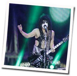 Kiss guitar tabs for A million to one