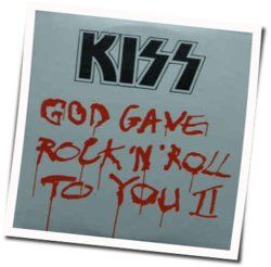 Kiss guitar tabs for God gave rock and roll to you