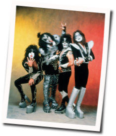 Kiss guitar chords for God gave rock n roll to you