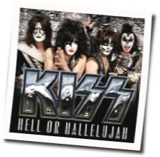 Kiss guitar tabs for Hell or hallelujah