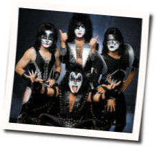 Kiss chords for I wanna rock and roll all night