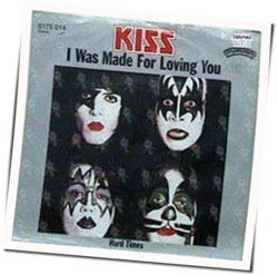 Kiss guitar tabs for I was made for lovin you (Ver. 2)