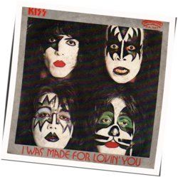 Kiss guitar chords for I was made for loving you