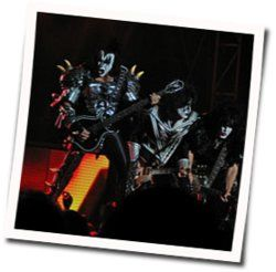 Kiss guitar tabs for Im alive