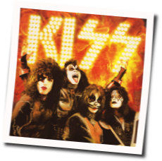 Kiss bass tabs for Rock and roll all night