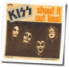 Kiss bass tabs for Shout it out loud