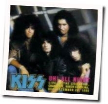Kiss guitar tabs for Uh all nite