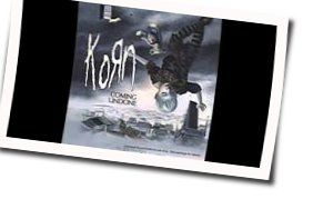 Korn guitar chords for Coming undone