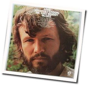 Kris Kristofferson chords for Me and bobby mcgee ukulele