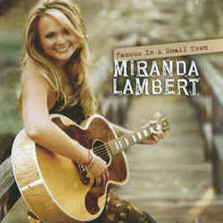 Miranda Lambert tabs for Famous in a small town