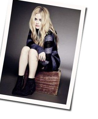 Avril Lavigne chords for Everybody hurts acoustic