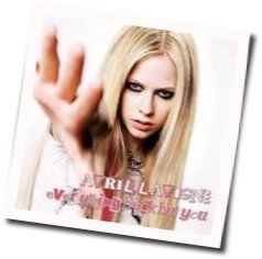 Avril Lavigne tabs for Everything back but you (Ver. 2)
