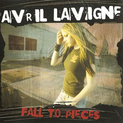 Avril Lavigne chords for Fall to pieces (Ver. 2)