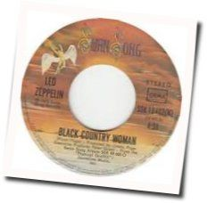 Led Zeppelin guitar chords for Black country woman