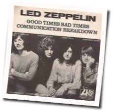 Led Zeppelin guitar tabs for Good times bad times (Ver. 2)