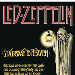 Led Zeppelin guitar chords for Stairway to heaven acoustic