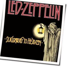 Led Zeppelin guitar chords for Stairway to heaven (Ver. 5)