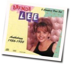 Brenda Lee chords for No one