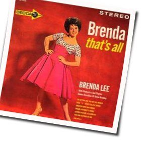 Brenda Lee guitar chords for Someday youll want me to want you
