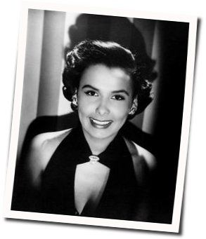 Lena Horne guitar chords for Just in time