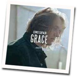 Lewis Capaldi guitar chords for Grace acoustic