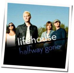 Lifehouse guitar tabs for Crash and burn