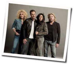 Little Big Town guitar chords for We went to the beach