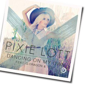Pixie Lott chords for Dancing on my own