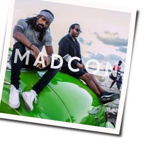 Madcon guitar chords for Got a little drunk