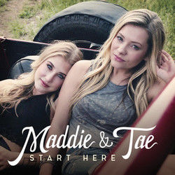 Maddie And Tae guitar chords for Downside of growing up