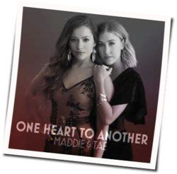 Maddie And Tae guitar chords for One heart to another