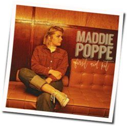 Maddie Poppe guitar chords for First aid kit