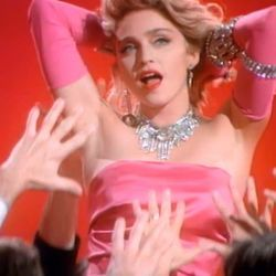 Madonna bass tabs for Material girl