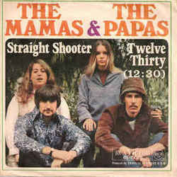 The Mamas And The Papas chords for 12-30