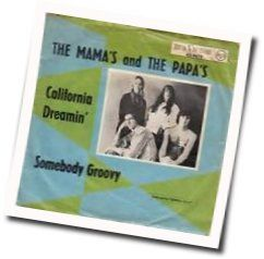 The Mamas And The Papas chords for California dreaming acoustic
