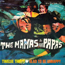 The Mamas And The Papas chords for Twelve thirty