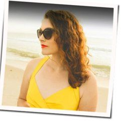 Mandy Harvey guitar chords for What a wonderful world