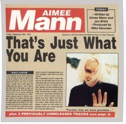 Aimee Mann chords for Thats just what you are