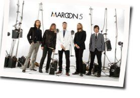 Maroon 5 chords for Back at your door