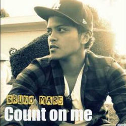 Bruno Mars guitar tabs for Count on me