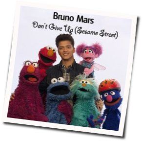 Bruno Mars guitar chords for Dont give up