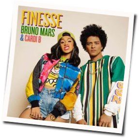 Bruno Mars bass tabs for Finesse