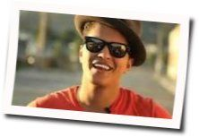Bruno Mars guitar chords for If i knew