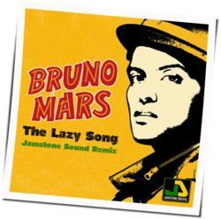 Bruno Mars guitar chords for Lazy song