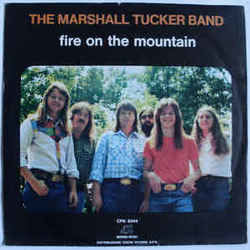 The Marshall Tucker Band chords for Fire on the mountain