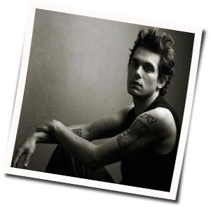 John Mayer guitar chords for A break in the clouds
