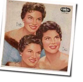 The Mcguire Sisters tabs and guitar chords