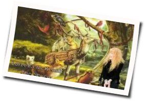 Loreena Mckennitt guitar chords for The seven rejoices of mary