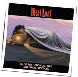 Meat Loaf chords for Id do anything for love