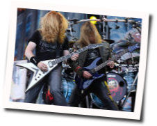 Megadeth tabs for The shadow of deth
